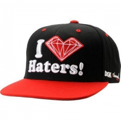 DGK CAP X DMD HATERS BLK/RED - Click for more info