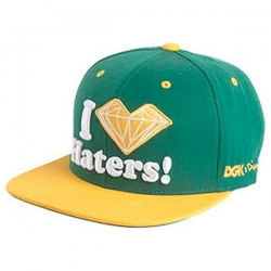 DGK CAP X DMD HATERS GRN/YEL - Click for more info
