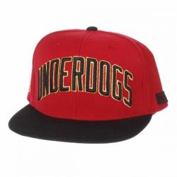 DGK CAP ADJ UNDERDOGS RED/BLK - Click for more info
