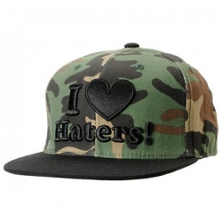 DGK CAP ADJ HATERS CAMO/BLK - Click for more info