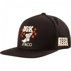 DGK CAP ADJ JT&CO TIMELESS BLK - Click for more info