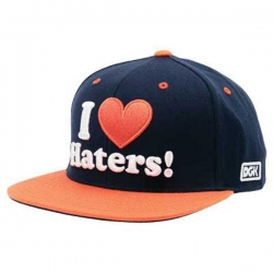 DGK CAP ADJ HATERS DNVR NVY/OR - Click for more info