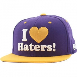 DGK CAP ADJ HATERS LA PUR/YEL - Click for more info