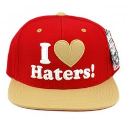 DGK CAP ADJ HATERS SF CARD/GLD - Click for more info