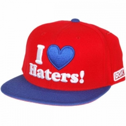 DGK CAP ADJ HATERS RED/ROY - Click for more info
