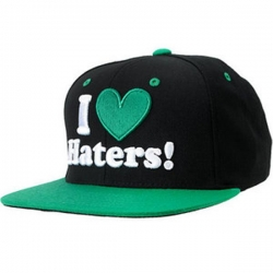 DGK CAP ADJ HATERS BLK/GRN - Click for more info