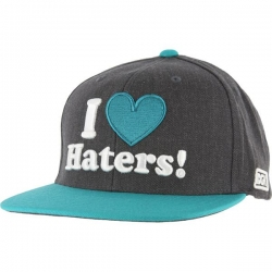 DGK CAP ADJ HATERS CHAR/TEAL - Click for more info