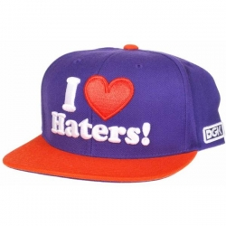 DGK CAP ADJ HATERS PUR/ORG - Click for more info