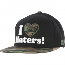 DGK CAP ADJ HATERS BLK/WDLNDS - Click for more info