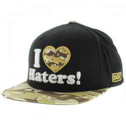 DGK CAP ADJ HATERS BLK/DESERT - Click for more info