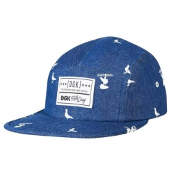 DGK CAP 5PNL ICONIC CAMPER BLU - Click for more info