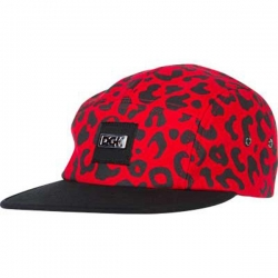 DGK CAP 5PNL FAST LIFE RED - Click for more info