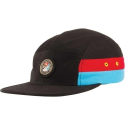 DGK CAP 5PNL ROUGH&RUGGED BLK - Click for more info