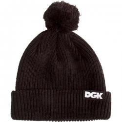 DGK BEANIE CLASSIC POM BLK - Click for more info