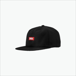 DGK CAP ADJ ILLUSION BLK - Click for more info
