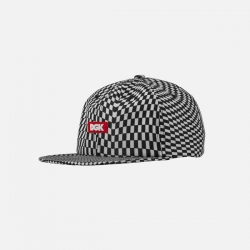DGK CAP ADJ ILLUSION BLK CHCKR - Click for more info
