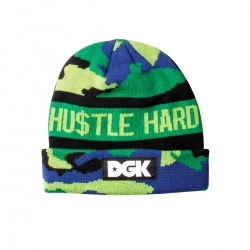 DGK BEANIE HSUTLE HARD MULTI - Click for more info