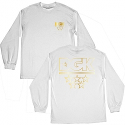 DGK LS TEE ALL STARS WHT/GLD L - Click for more info