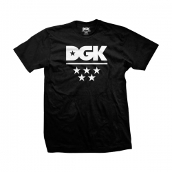 DGK TEE ALL STAR BLK 3XL - Click for more info