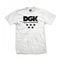 DGK TEE ALL STAR WHT XXL - Click for more info