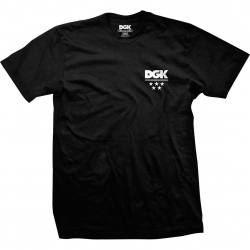 DGK TEE ALL STAR MINI BLK M - Click for more info