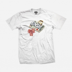 DGK TEE ROLL OUT WHT M - Click for more info