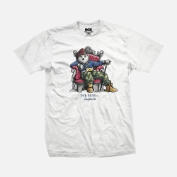 DGK TEE CHILLIN WHT M - Click for more info