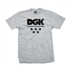DGK TEE ALL STAR HTHR L - Click for more info