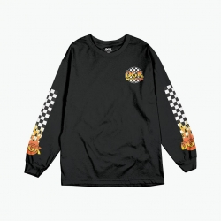 DGK LS TEE GHETTO FIRE BK L - Click for more info