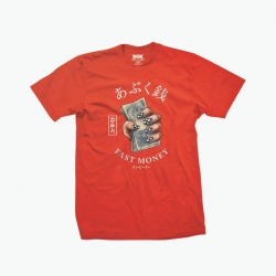 DGK TEE FAST MONEY RD M - Click for more info
