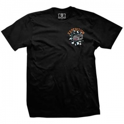 EXP TEE PUCK BLK M - Click for more info