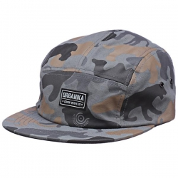ORG CAP 5PNL ANIMAL CAMO CHAR - Click for more info