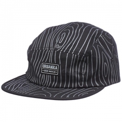 ORG CAP 5PNL TREE CAMO BLK - Click for more info