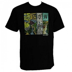 ORG TEE LANDSCAPES BLK XL - Click for more info