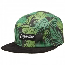 ORG CAP 5PNL PALMS BLK - Click for more info