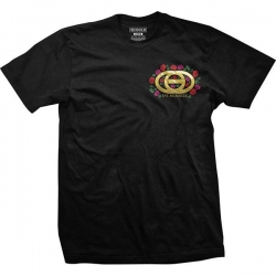 GLD TEE BOUQUET BLK L - Click for more info
