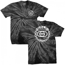 GLD TEE CHAINGANG BLK TIEDYE X - Click for more info