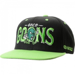 GLD CAP ADJ GOONS BLK/LIME - Click for more info