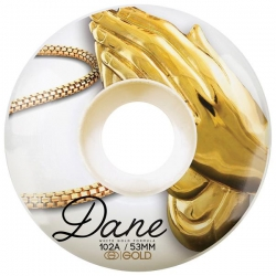 GLD WHL PRAY DANE 53MM - Click for more info