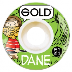 GLD WHL GANG DANE 51MM - Click for more info