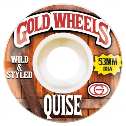 GLD WHL WOODS QUISE 53MM - Click for more info