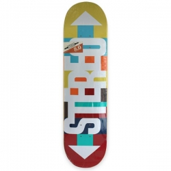 STE DECK RETRO ARROWS 8.0 - Click for more info