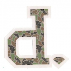 DMD STKR UNPOLO RAIN CAMO 10PK - Click for more info