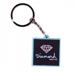 DMD KEYCHAIN OG SIGN D BLU/BLK - Click for more info