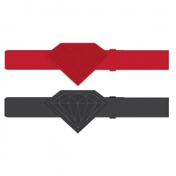 DMD BELT BRILLIANT CORD RED - Click for more info