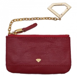 DMD POUCH CHAIN ELEPHNT RED - Click for more info