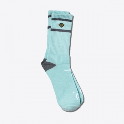 DMD SOCK DMND HIGH STRIPE DBLU - Click for more info