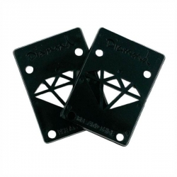 DMD RISER PADS 1/8 PAIR BLK - Click for more info