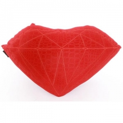 DMD PILLOW BRILLIANT RED CROC - Click for more info