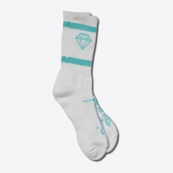 DMD SOCK ROCK SPORT WHT/DBLU - Click for more info